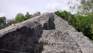 Hiking Mayan Ruins in Coba