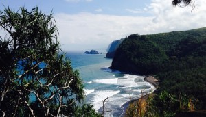 Pololu Beach, Hawaii